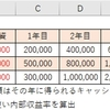 【エクセル】IRR関数の使い方_内部収益率の算出