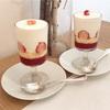 グラスに入った苺のショートケーキ&リヨン風サラダ(filtopierre @恵比寿)