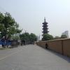 上海旅行二日目(5)。虹口足球場から龍華寺へ。龍華寺は三国時代の寺院
