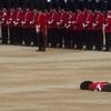 バッキンガム宮殿の衛兵もやはり人間 女王陛下90歳の晴れの舞台で失神 さらにフォトショップで加工され大人気