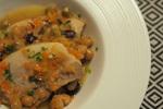 シェフの「豚肉と豆の白ワイン煮込み」作り方レシピ