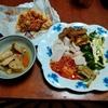 幸運な病のレシピ( 2281 )夜:マユのご飯、鳥、タコス(お店のもの)、色々と有るもの、後片付け