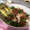 圧力鍋で茹で大豆&ホテルランチ