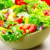 サラダを取り分けるより、ブチまけろ。