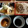 美味しいお蕎麦と天ぷらのセット
