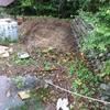 カメを飼う池を自作してみる!2号池 整形・養生・遮水シート