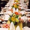【椿山荘結婚式】ゲストテーブル装花の見積もり