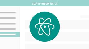 Atomエディタを Material Design な見た目にするテーマが良い感じだった