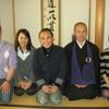 片岡鶴太郎さんとお寺で座頭市クリスマスイヴ