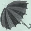 日傘の男性を初めて見ました。