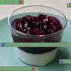 🚩外食日記(631)    宮崎   「ムラナカフェ(murana cafe)」②より、【りんごのケーキ】【ぶどうとクリームチーズのパンナコッタ】‼️