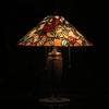 No.161 とお(10)の木の灯り~その6「椿のティファニーランプ」