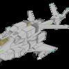 【真の原図発見による改訂版】可変戦闘機・固定翼形態『VFH-10C 単座型オーロラン』