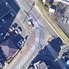 丁字路の右折車と左折車の交通事故における過失割合