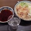 なぜか日本酒がついてくる立ち食い蕎麦