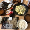 今日の晩御飯 黒焼きそばソースでトンテキ