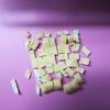 今朝の簡単味噌汁 白菜、エノキ、油揚げ