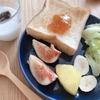 朝ご飯:フルーツ多めを意識して身体の育児疲れ対策