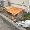 農具物置DIY(6)&ハト