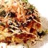 豆腐とチーズのお好み焼き