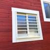ログハウス窓の防犯対策  〜ログハウスと面格子②
