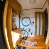【diy6】 狭い玄関に縦型自転車ハンガー