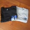ユニクロでTシャツ2枚買いました。