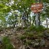 信州峠から横尾山、獅子岩から飯盛山