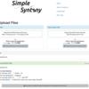 アセンブリ配列やゲノムから遺伝子配列をblast検索できるwebツール SimpleSynteny