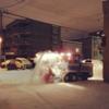 【YouTube動画】真夜中の除雪車 札幌市東区<松島タツオのさっぽろ暮らし情報>