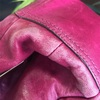 擦れたバッグは補色〜( ^ω^ )