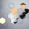 100均、IKEAで簡単DIY! 六角形の鏡でウォールアートを作るライフハック!