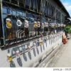 【奈良】通りで見かけた空き缶アート