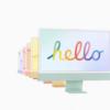 新型24インチiMacが発表!!! ~ Apple M1を搭載して新しいデザインに