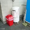 徳島線穴吹駅の白いポスト