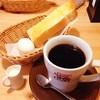 たっぷりブレンドコーヒー、選べるモーニング。