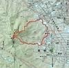 二上山登山ルート 奈良県側からのルート
