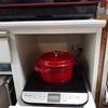 IH調理器ってすごい。一口で複数の鍋
