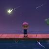 カブと新住人と流れ星