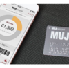 MUJIカード発行&ショッピングの条件をクリアして9,600円相当のポイントをいただきました
