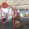 TOKYOパラ、プレ・イベント〈19.8.25〉-②-/ 車いすバスケット