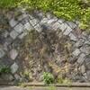 桃園公園 外壁に残る防空壕跡 福岡県北九州市八幡東区桃園