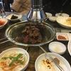 韓国旅行9  焼肉とパッピンス
