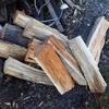 太い薪が似合うのですが また楽しからずや~ Thick firewood is cool, but