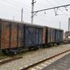 上州福島駅側線にあった退役車両たち