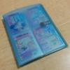 アイカツバインダー。カード入れケースを100均のファイルで代用する