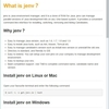 jEnvでJavaのバージョン管理ができるらしい、Windowsでも?