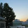 上野公園、夜明けランのスナップ