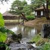 福島県会津若松の観光スポット 御薬園(おやくえん)で新緑さんぽ