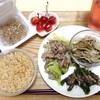 6月26日の食事記録~低糖質なレンチンメニュー・きのこのマリネ(レシピ有)